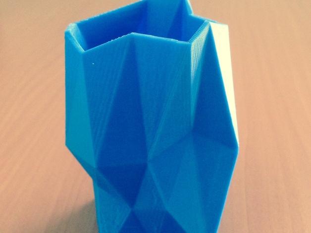 多边形花瓶