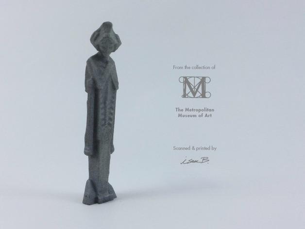 建筑大师赖特 塑像 3D打印模型渲染图