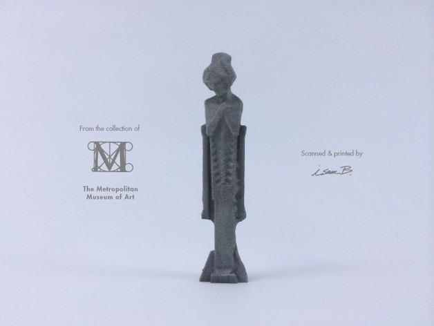 建筑大师赖特 塑像