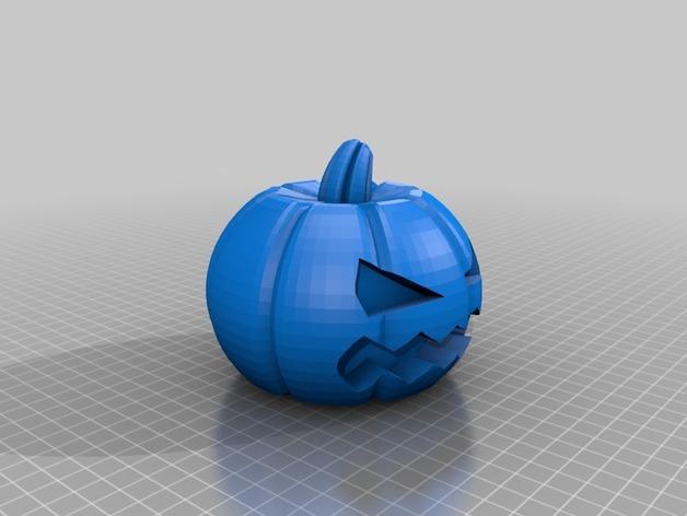 南瓜炸弹 3D打印模型渲染图