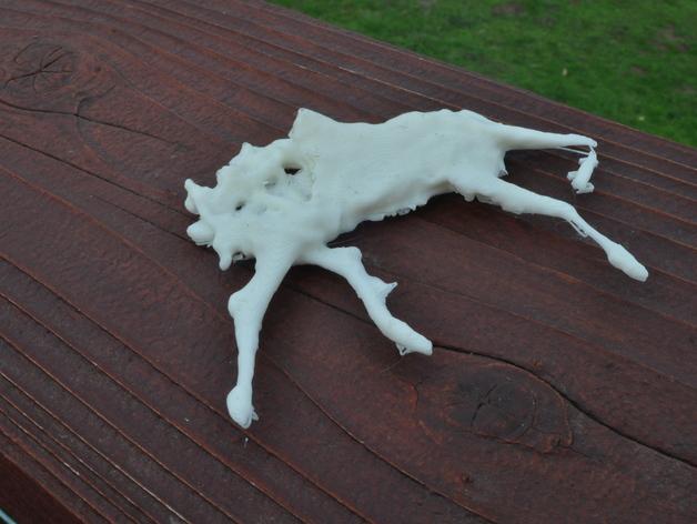 路毙的小鹿