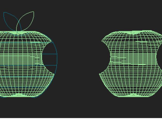 美国动画《辛普森一家》中苹果手机Mapple标志