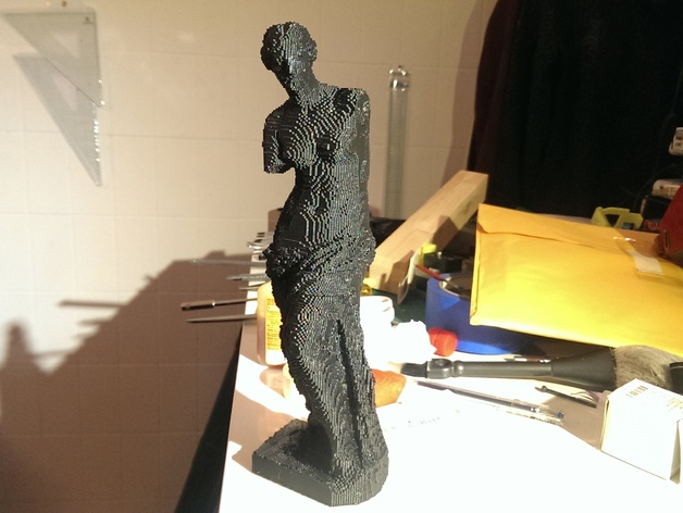 断臂维纳斯 雕塑 3D打印模型渲染图