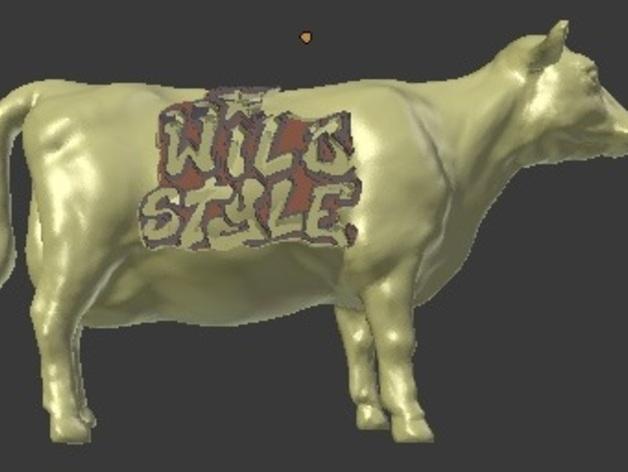 奶牛 雕塑