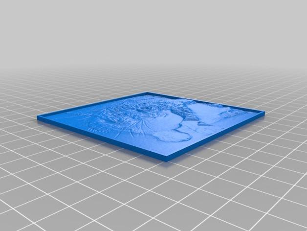 定制化 透光浮雕 立方体