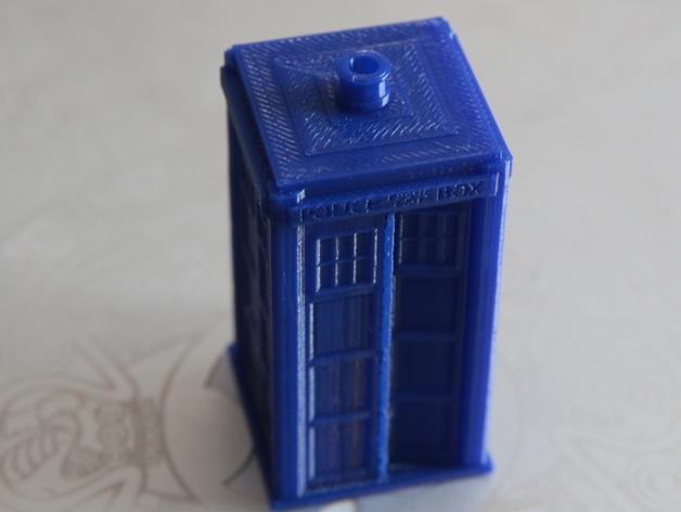塔迪斯 盐瓶 3D打印模型渲染图