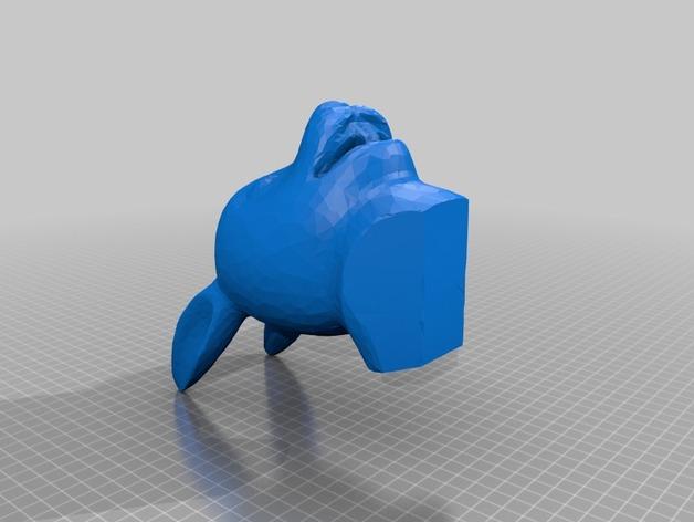 7个圆明园十二生肖 3D打印模型渲染图