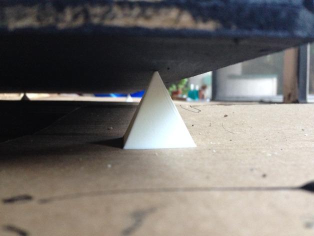 三菱锥 3D打印模型渲染图