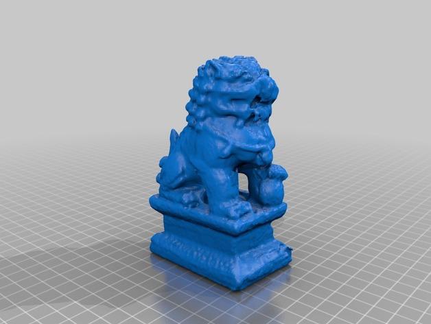 中国石狮子