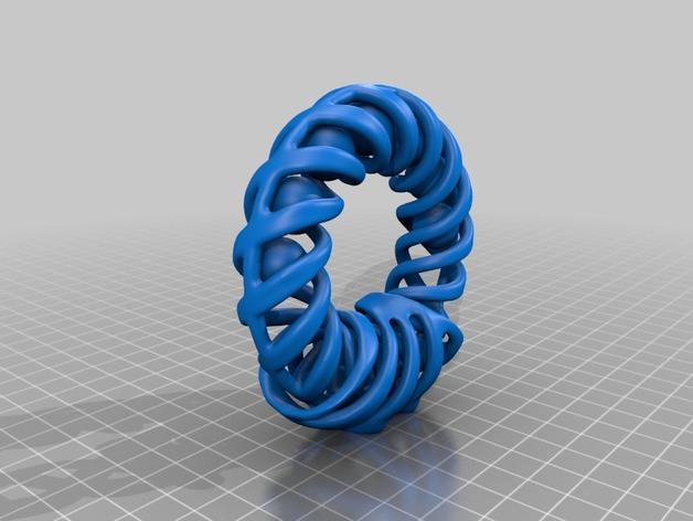 螺旋圆环 支架