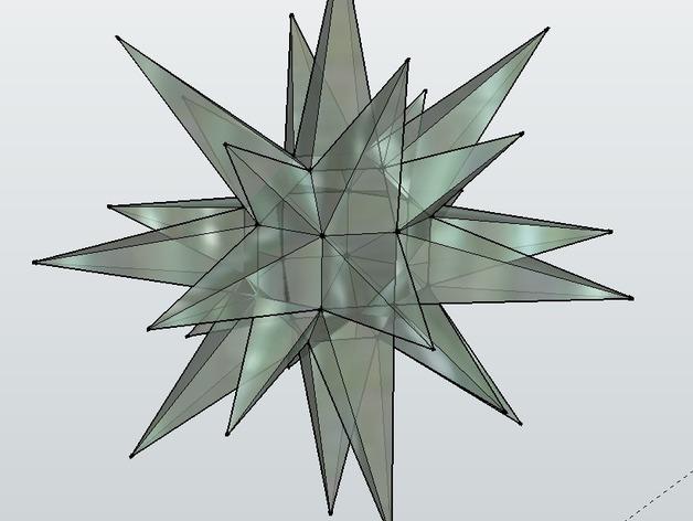 摩拉维亚的星星 装饰品