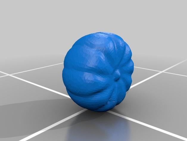 南瓜 3D打印模型渲染图