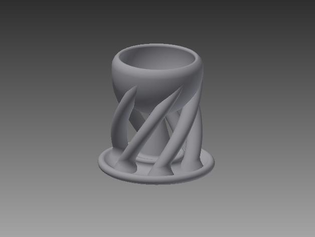 有趣的杯子 3D打印模型渲染图