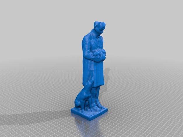 温柔的医生 雕塑