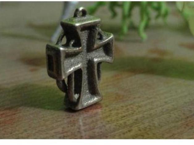 朋克风 十字架吊坠