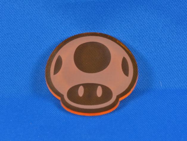 游戏《超级马里奥》蘑菇