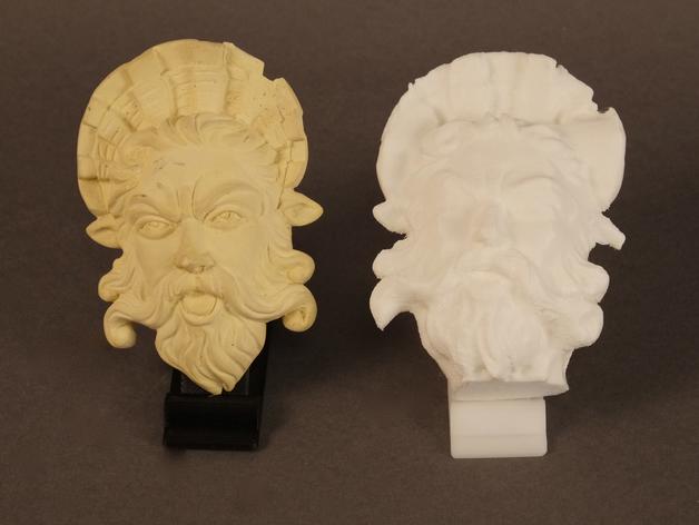 海神 Neptune 3D打印模型渲染图