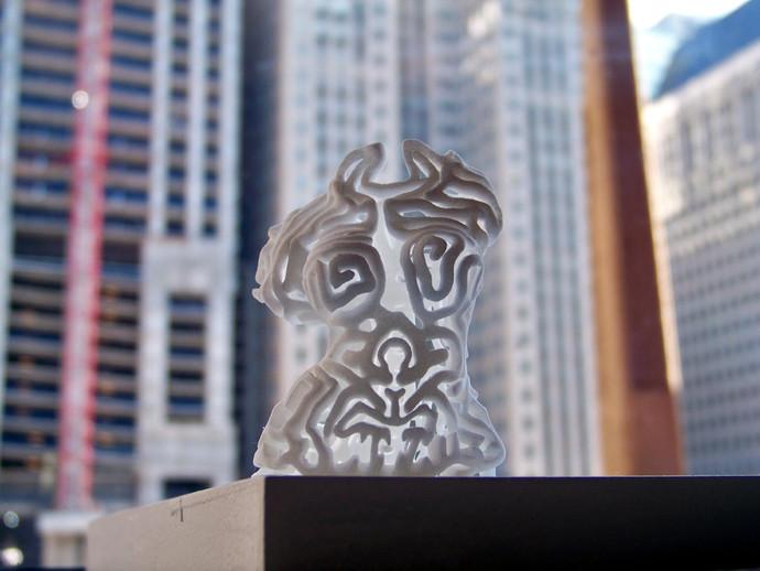 女性躯干 女神 3D打印模型渲染图