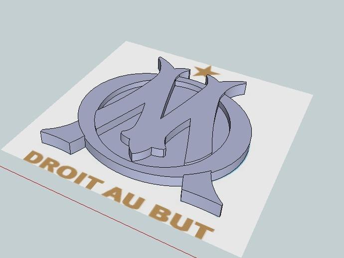 马赛足球俱乐部 标志