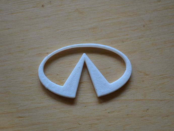 英菲尼迪汽车 标志 3D打印模型渲染图