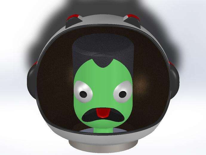 游戏《坎巴拉太空计划》玩偶