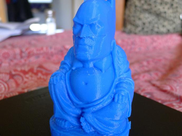 蝙蝠侠 佛陀 3D打印模型渲染图
