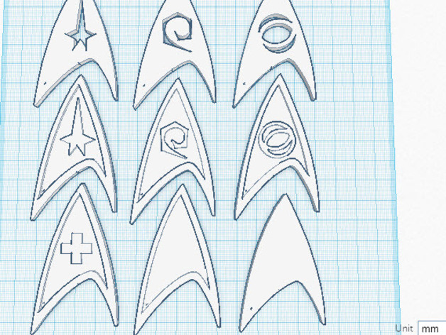 《星际迷航》 标志