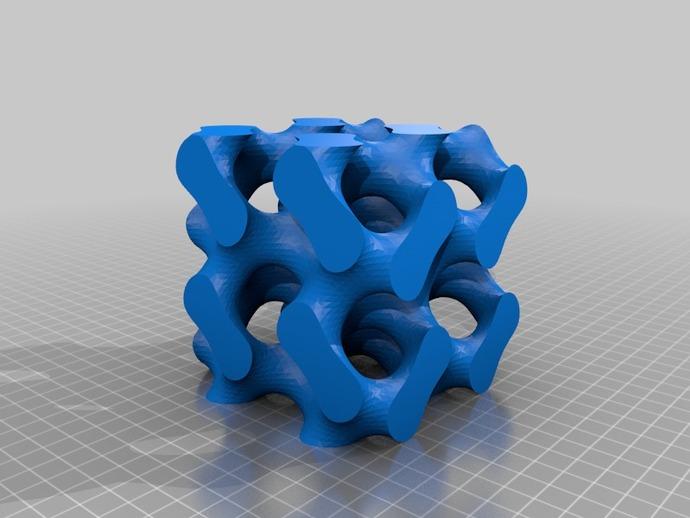 螺旋六面体
