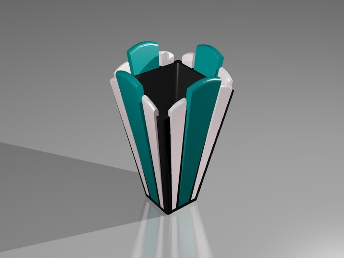 装饰艺术风格 花瓶