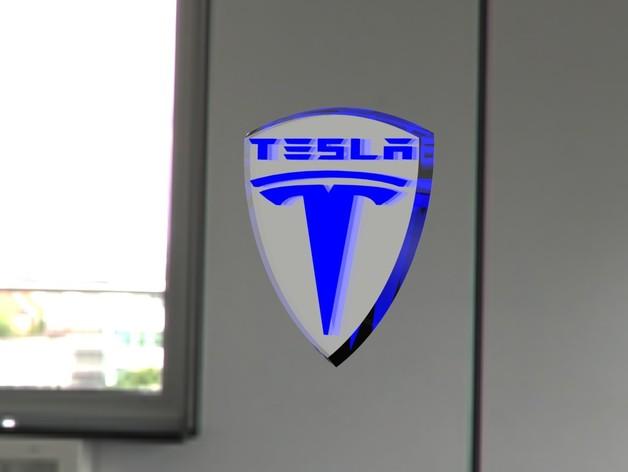 特斯拉汽车 标志