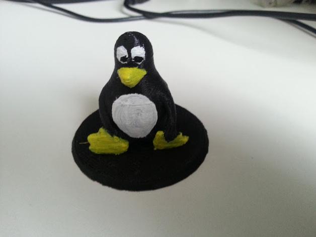 Tux企鹅 吉祥物