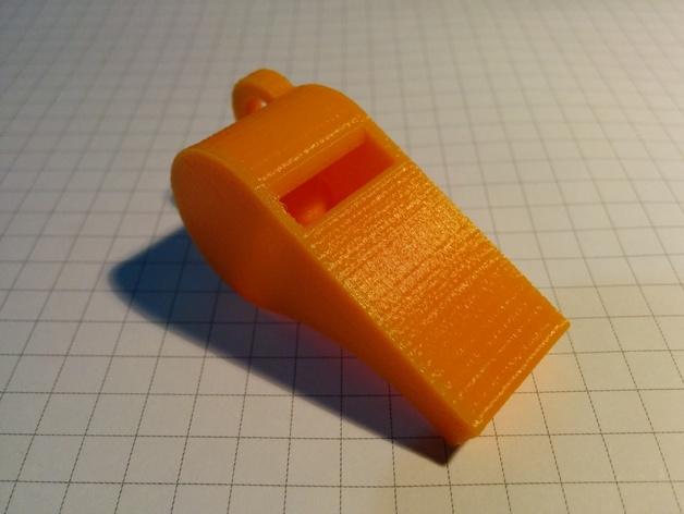 红色的口哨  3D打印图片