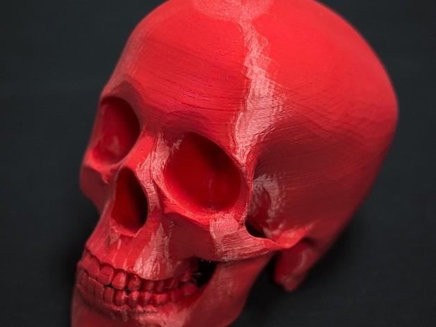 骷髅王 3D打印实物照片