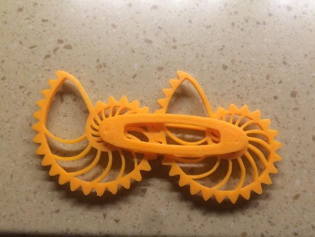 鹦鹉螺齿轮 3D打印图片