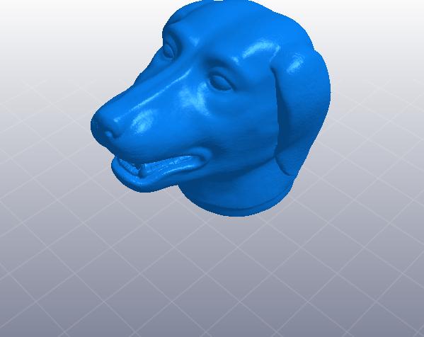 十二生肖 狗头 模型