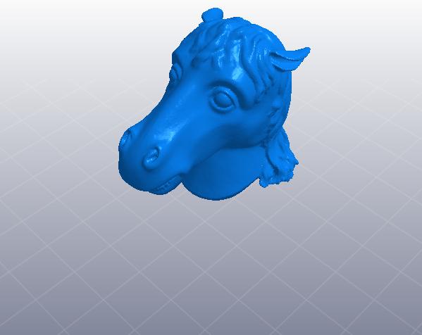 十二生肖 马头 模型