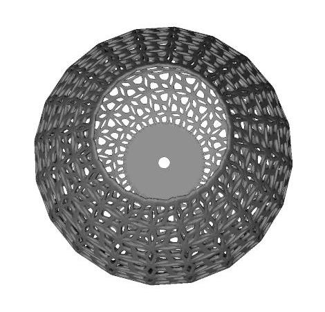 克里灯罩 3D打印模型渲染图