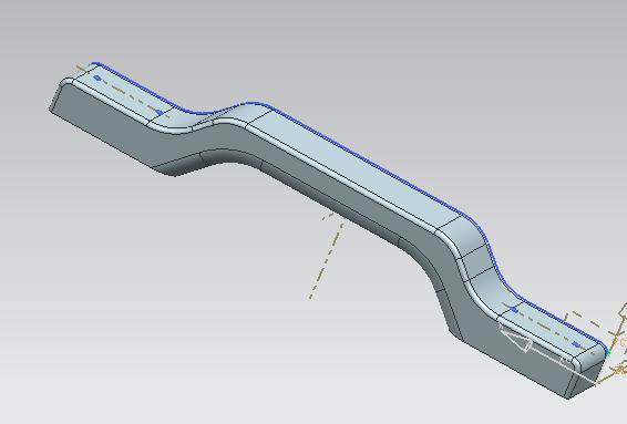 行旅箱-把手 3D打印模型渲染图
