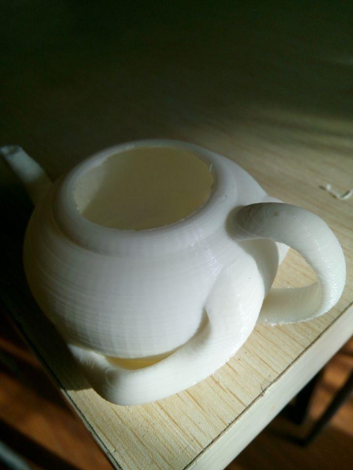 茶壶 3D打印模型渲染图