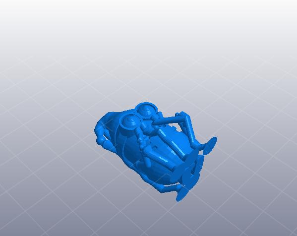 圣诞节的小黄人 3D打印模型渲染图