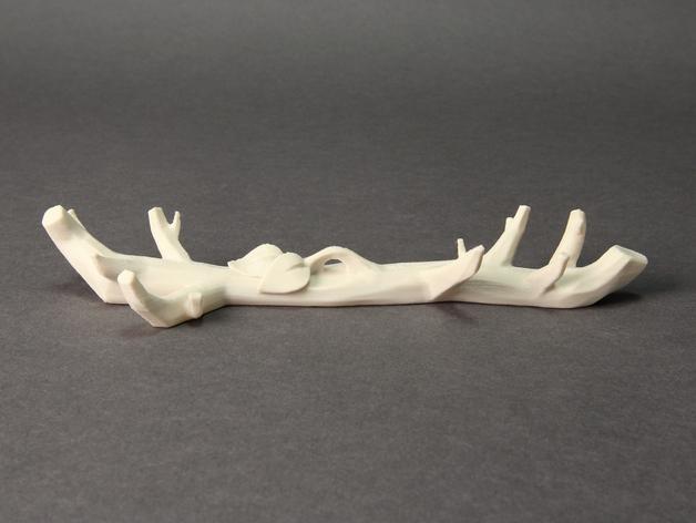 3D打印DLY雪花风铃