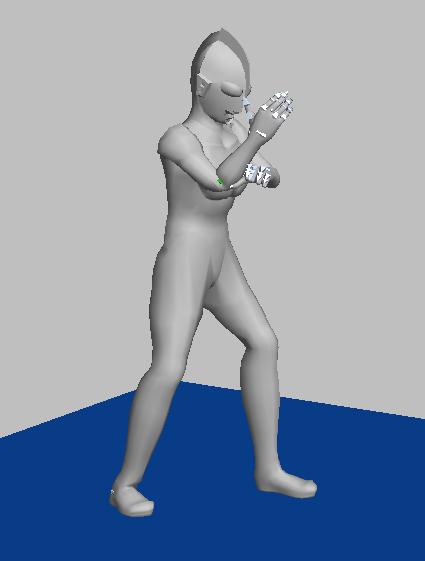 奥特曼 3D打印模型渲染图