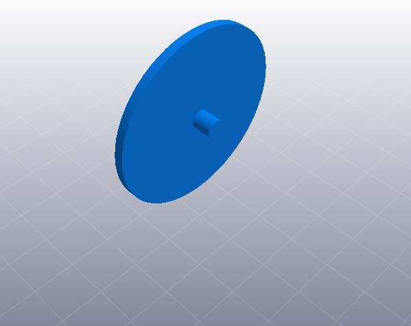 水平料架 3D打印模型渲染图