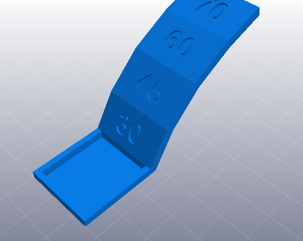 3D打印机性能测试 悬垂表现测试