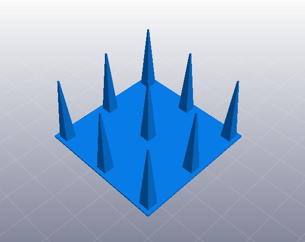 3D打印机性能测试 正空间性能测试