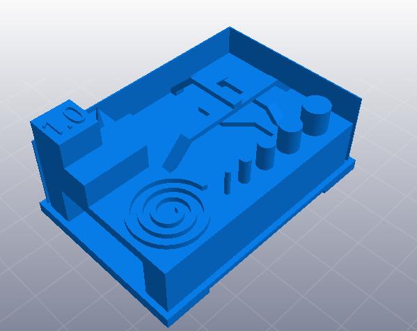 3D打印机综合测试模型 3D打印模型渲染图