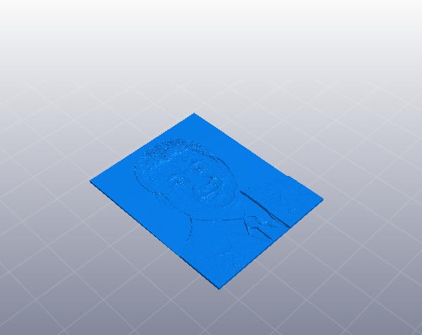 习大大 平面模型 3D打印模型渲染图