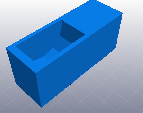 小书橱 3D打印模型渲染图