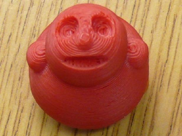 小胖子 3D打印模型渲染图