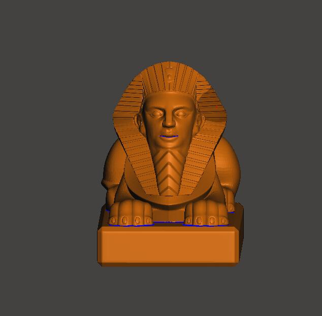 金子塔狮子